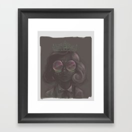 Crown to Glow Framed Art Print