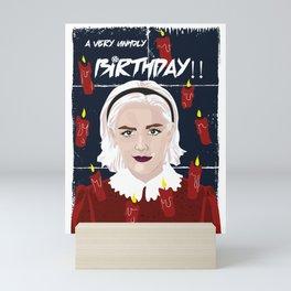 Sabrina Bday Card Mini Art Print