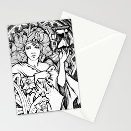 Time Passes Stationery Cards