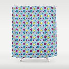 Vinnie Star 1 - Cornflower Shower Curtain