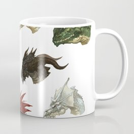 wings of fire head dragon Coffee Mug