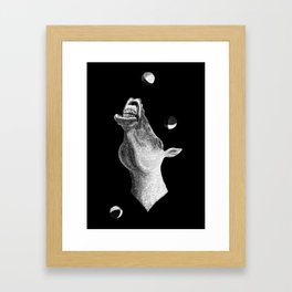 Troubadour / The horse that could juggle Framed Art Print