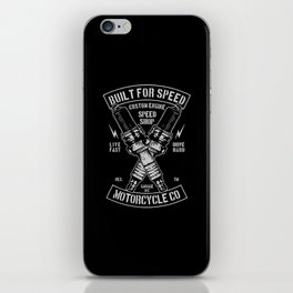 build for speed iPhone Skin