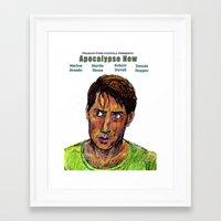 apocalypse now Framed Art Prints featuring Apocalypse Now by AdrockHoward