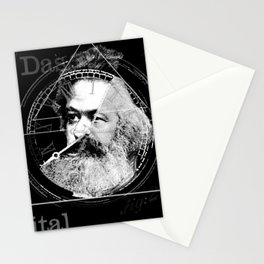 The Time of Marx Dark Stationery Cards
