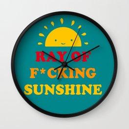 Ray Of Fucking Sunshine, Locke Key Mug, Sunshine Mug, Mug for Happy Wall Clock