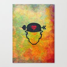 Soldier of love Canvas Print