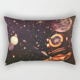 Space Boots. Rectangular Pillow