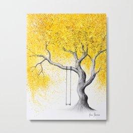 A Soft Autumn Metal Print