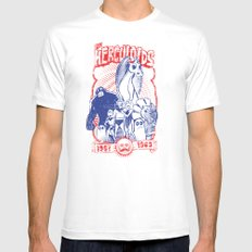 the herculoids Mens Fitted Tee White X-LARGE