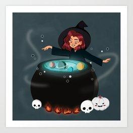 Cauldron of Galaxy Art Print