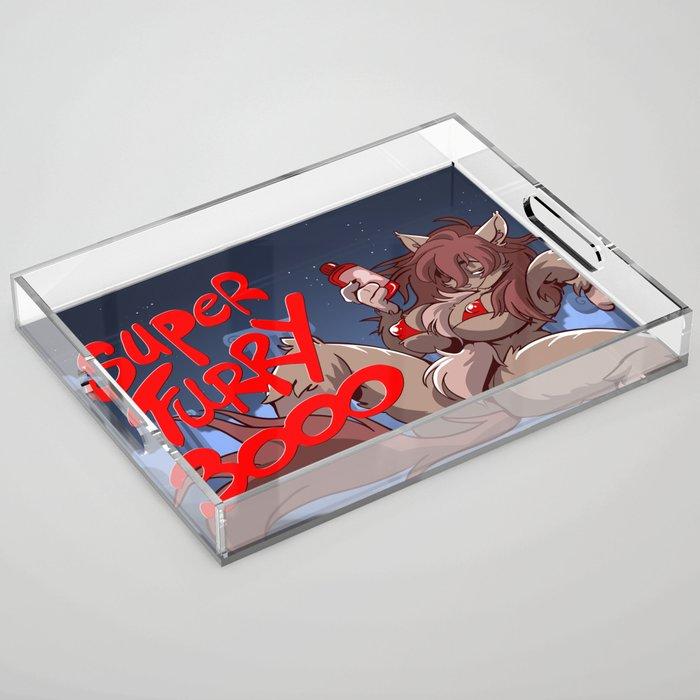 Super Furry 3000 Acrylic Tray