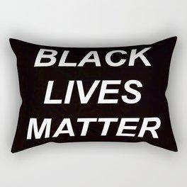 BLACK LIVES MATTER // QUOTE Rectangular Pillow
