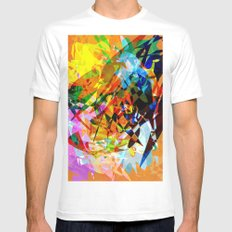 Colors White Mens Fitted Tee MEDIUM