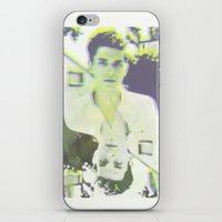john mayer iPhone & iPod Skins featuring Young John by Kat Monkey