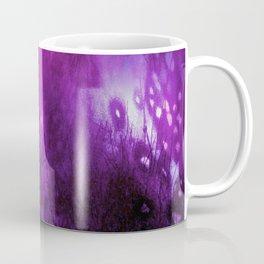 Foxglove Abstract Coffee Mug