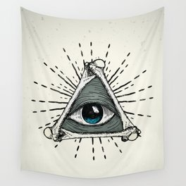 All Seeing Eye Wall Tapestry