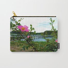 Cape Rose in Full Bloom Carry-All Pouch