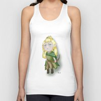 chibi Tank Tops featuring Chibi Legolas by Miss No!