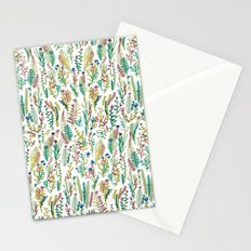 White garden Stationery Cards