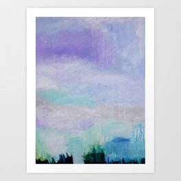 Atmospheric Medicine Original Painting Art Print