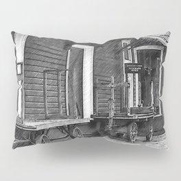 Train Station Platform Pillow Sham
