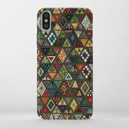 sun bear geo dark iPhone Case