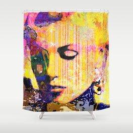 mm subtle fluid Shower Curtain