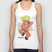 naruto Tank Tops featuring Naruto by Jinny Hinkle