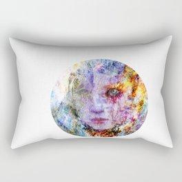 breaking through Rectangular Pillow
