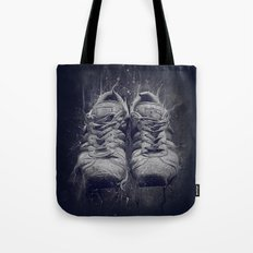 DARK SHOES Tote Bag