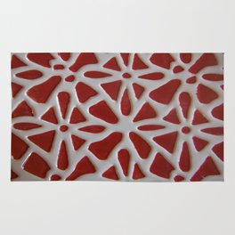 Red Stone Path Rug