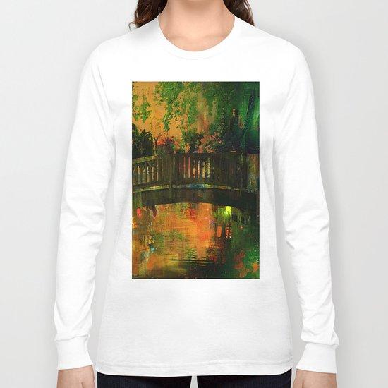 The bridge of Central Park Long Sleeve T-shirt