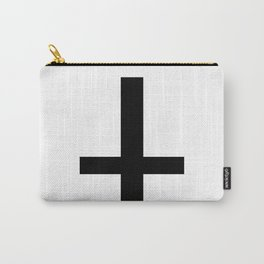 Satanic Cross Carry-All Pouch