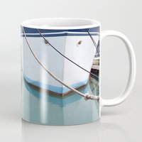 boats Mugs featuring Boats by courtney2k ⚓ design™