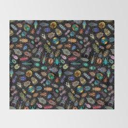 Coleoptera Throw Blanket
