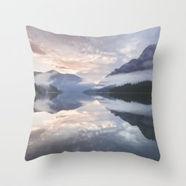 Mornings like this - Landscape and Nature Photography Throw Pillow