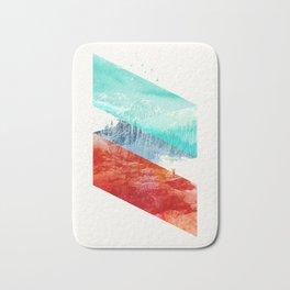 Mountain Stripes Bath Mat