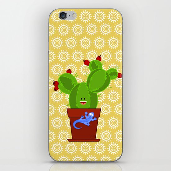 my dear cactus iPhone & iPod Skin
