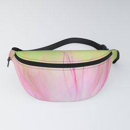 Soft Pink Flower Macro Close Up Fanny Pack