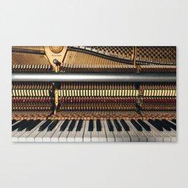 Piano inside Canvas Print