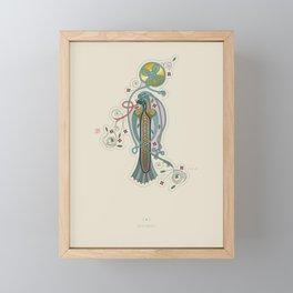 Celtic Initial I Framed Mini Art Print