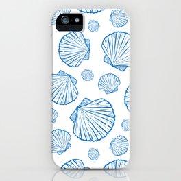 marine seamless pattern iPhone Case