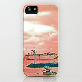 """""""Inspiration At Catalina"""" with poem: My Own Day iPhone Case"""