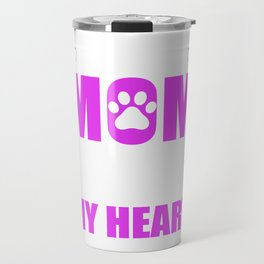 Rescue Moms Full Heart Mothers Day T-Shirt Travel Mug