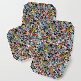 MUNI Mandala Coaster