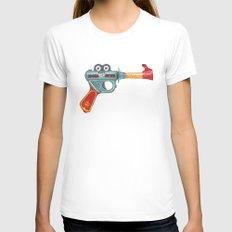 Gun Toy Womens Fitted Tee White MEDIUM