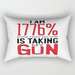 Guns & Second Amendment Rectangular Pillow