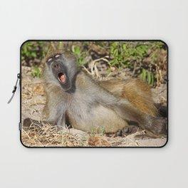 Just sooooo tired - Africa wildlife Laptop Sleeve