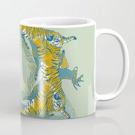 tiger and deer Coffee Mug